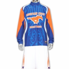 Mustangs 1/4 zip shooter shirt