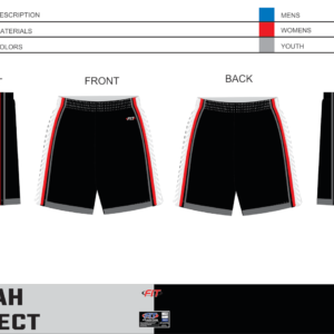 Utah Select Pocketed Shorts (Black)