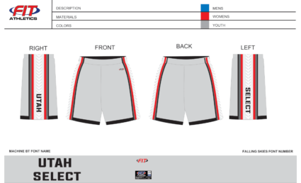 Utah Select Pocketed Shorts (Grey)