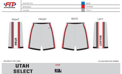 Utah Select Pocketed Shorts (Grey)