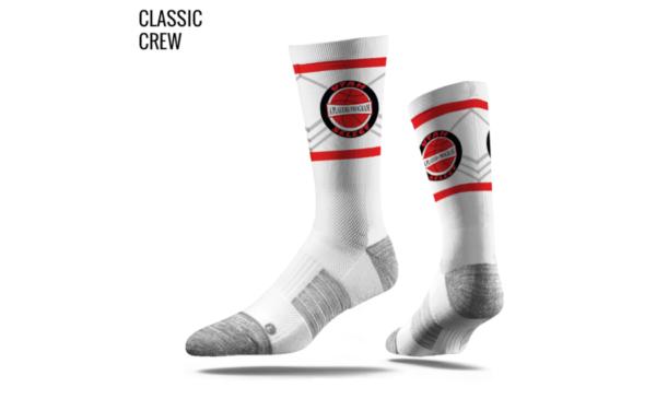 Utah Select Socks (White)