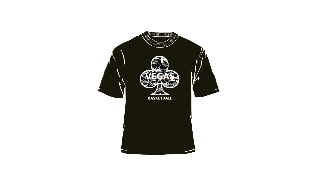 Vegas Black T-Shirt