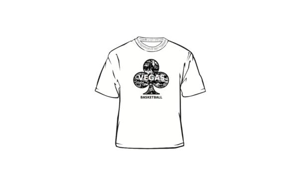 Vegas White T-Shirt